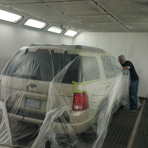 auto body paint outer banks